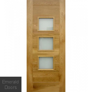 Contemporary Oak Arta External Door