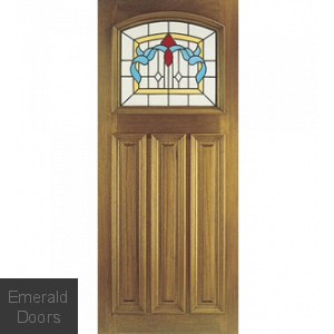 Edinburgh External Hardwood Door