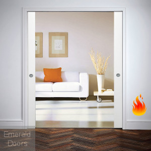 Classic DOUBLE FIRE-RATED Pocket Door System