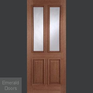 Derby Unglazed Hardwood External Door
