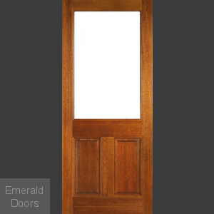 2XG Panel Unglazed Hardwood External Door