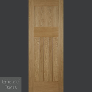 1930 Oak 4 Panel Fire Door