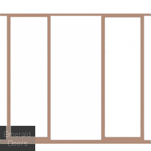 "Hardwood 23"" Sidelight Frame Kit Door Height 78"""