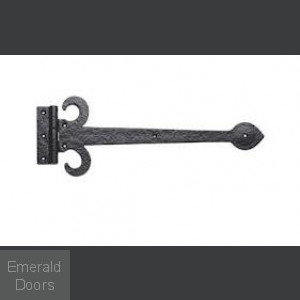 Antique Black External Sword Hinge Front