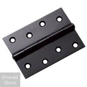 "3"" Fixed Pin Black Internal Hinge"