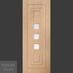 Altino Glazed Internal Oak Door