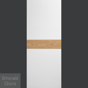 Asti White Rustic Internal Door