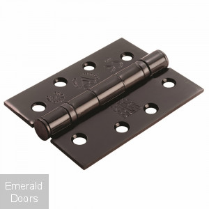"4"" Exterior Black Ball Bearing Hinge"