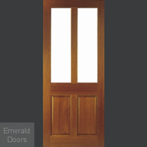 Edwardian Unglazed Hardwood External Door