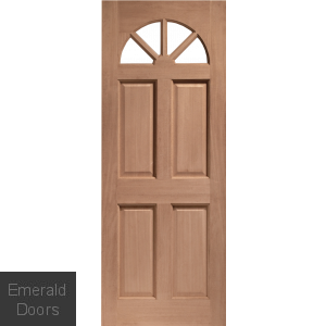Carolina Unglazed External Hardwood Door (M&T)