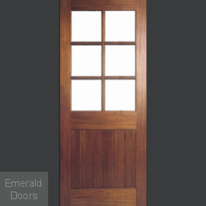 Falmouth Unglazed Hardwood External Door