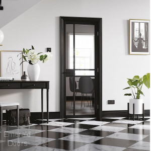 Black Greenwich Internal Door