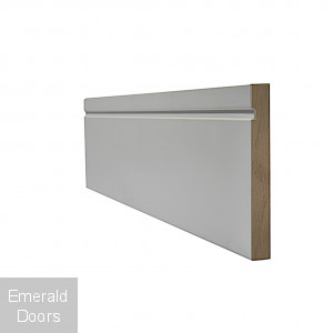 White Modern Skirting