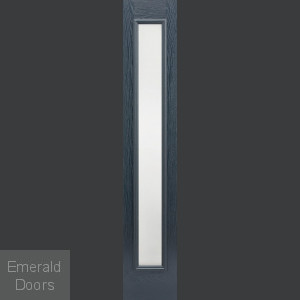 RP Frosted Glazed Grey Composite Sidelight