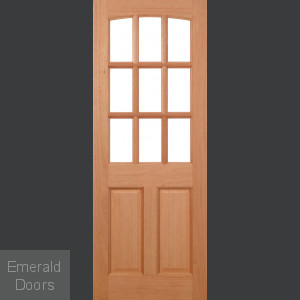 Georgia Hardwood External Door Unglazed