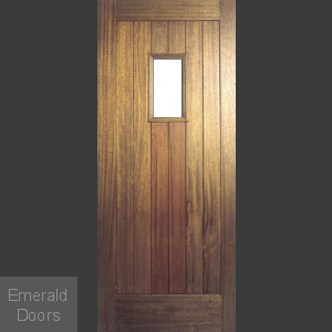 Hillingdon Unglazed Hardwood External Door