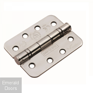 "Fire Door Radius 4"" Ball Bearing Hinges"