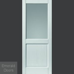 External 2XG White Fully Finished Extreme Door