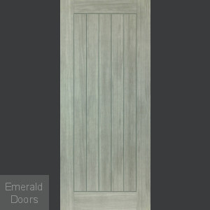 Colorado Grey Laminate Fire Door