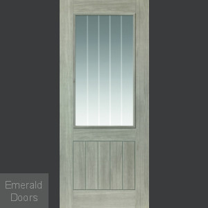 Colorado Grey Laminate Glazed Internal Door