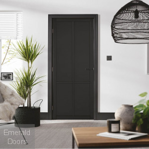 Black Liberty 4P Internal Door