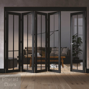 LIBERTY 5 DOOR INDUSTRIAL STYLE FOLDING DOOR
