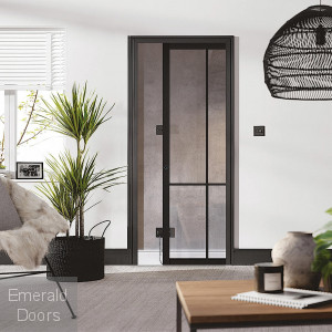 Liberty Black 4L Pocket Door System