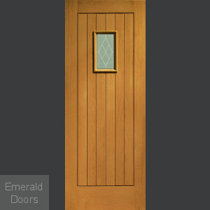Chancery Oak External Door Fully Finished