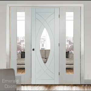 Treviso Room Divider with Demi Panels