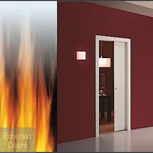 Fire Pocket Door Frame