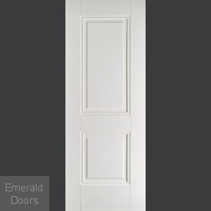 Arnhem 2 Panel White Primed Fire Door
