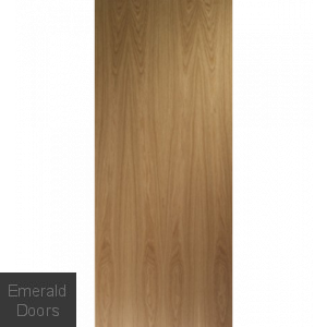 Contemporary Flush Internal Oak Door