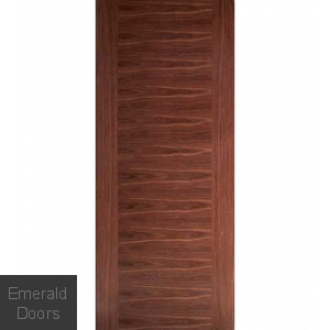 Nova Walnut Flush Fire Door