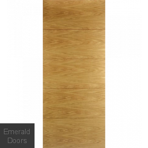 Contemporary Oak 7500 Fire Door