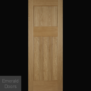 1930 Oak 4 Panel Internal Door