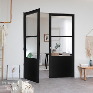 INDUSTRIAL STYLE WK9036C CUSTOM MADE FRENCH DOORS