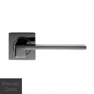 Equi Black Nickel Lever