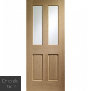 Oak Malton Glazed Fire Door