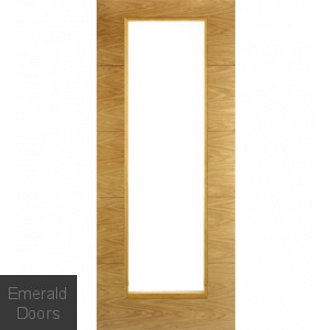 Contemporary Oak 7503 1 Light Internal Door
