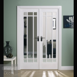 Manhattan White W4 Room Divider