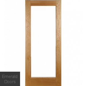 Oak Pattern 10 Unglazed External Door