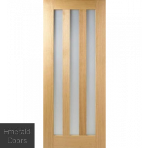 Idaho Utah Oak Prefinished Door