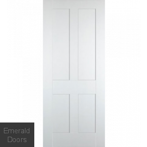 Bristol White 4 Panel Internal Door