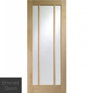 Oak Worcester Glazed Fire Door