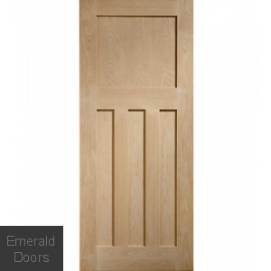 Oak DX Flat Panel Internal Door