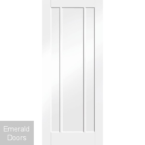 Worcester White Fire Door