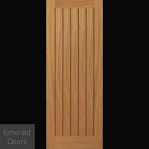 River Oak Yoxall Fire Door