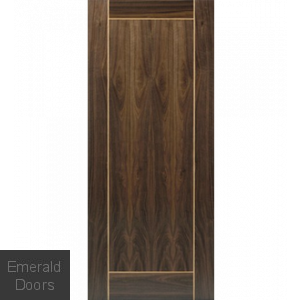 Vina Walnut Fire Door