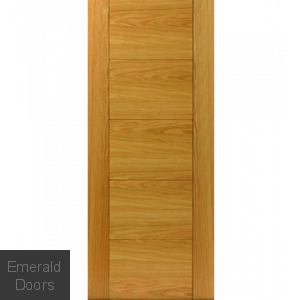 River Oak Tigris Fire Door