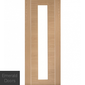 Forli Oak Glazed Internal Door